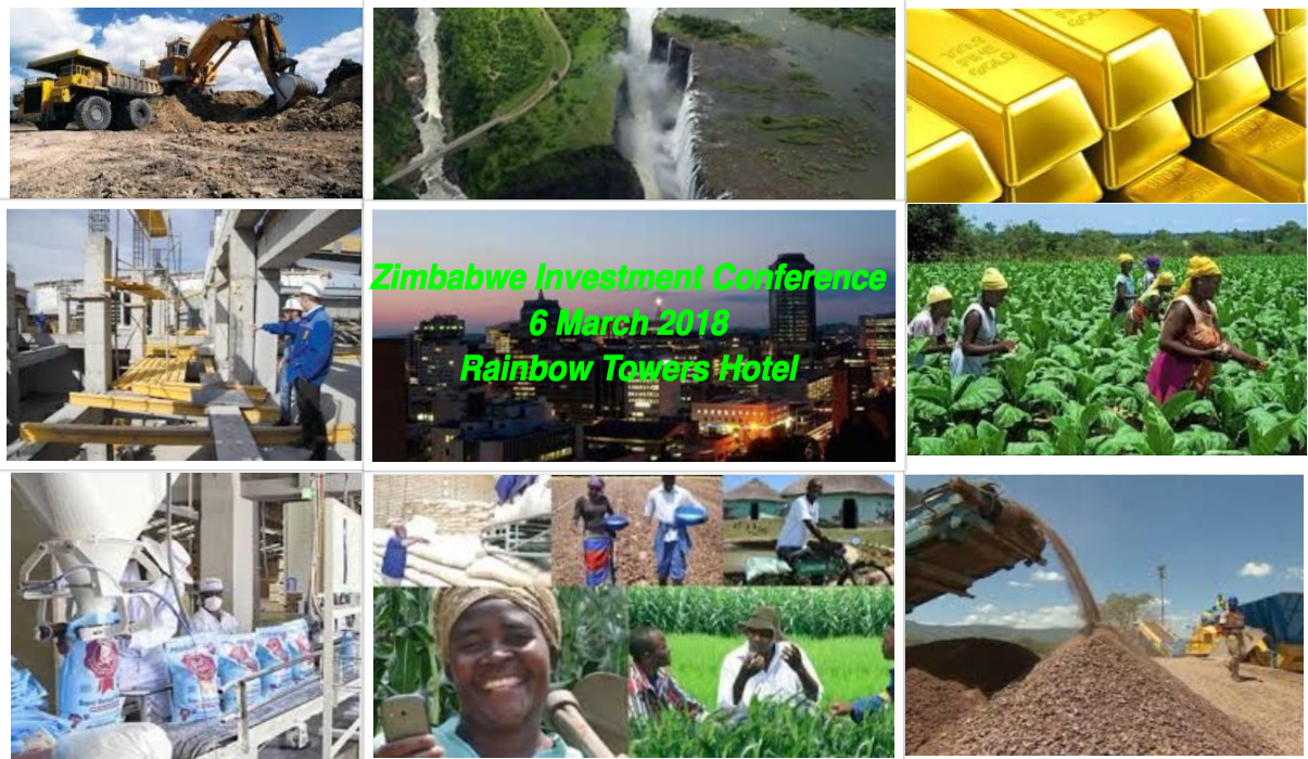 Zimbabwe Investment Conference(6 March 2018, Rainbow Towers Hotel, Harare)